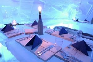 снежный ресторан